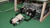 埼玉大学がKinectやロボットによる歩行リハビリ支援システムを展示:CEATEC2015