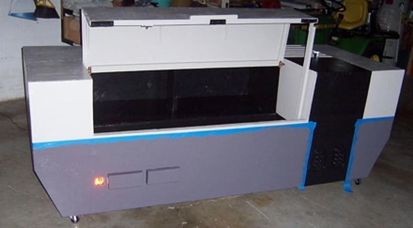 Eight foot, 400 pound NES replica FTW