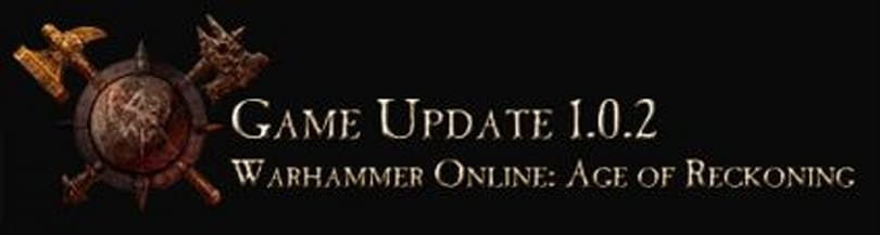 Mythic patches in Warhammer game update 1.0.2