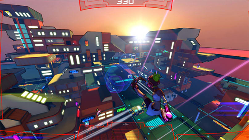 Jet Set Radio and Mirror's Edge had a baby and named it Hover