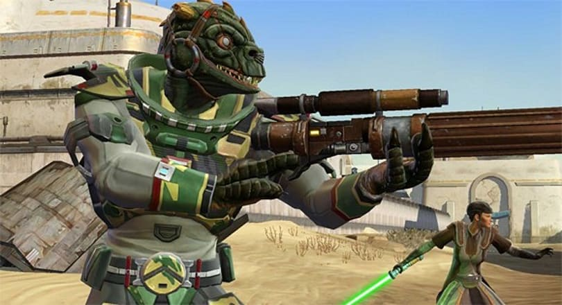 Complement your Star Wars: The Old Republic character with companions