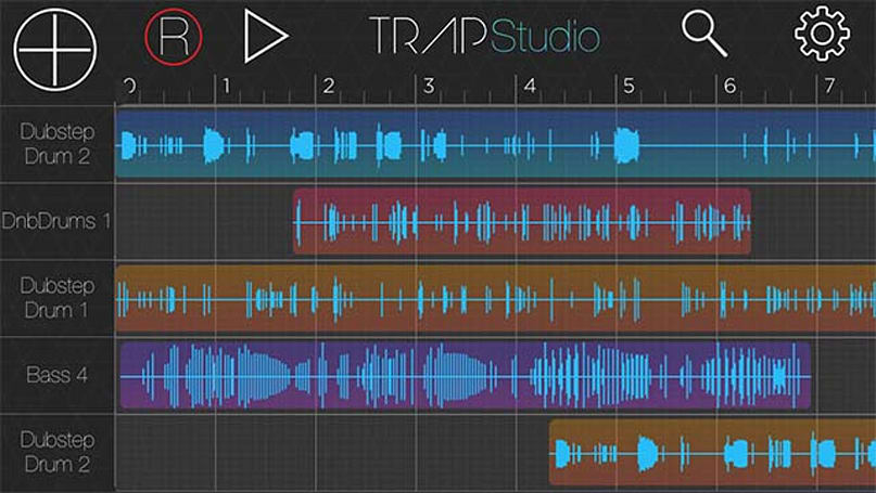 Trap Studio helps you create your own music on any iOS device