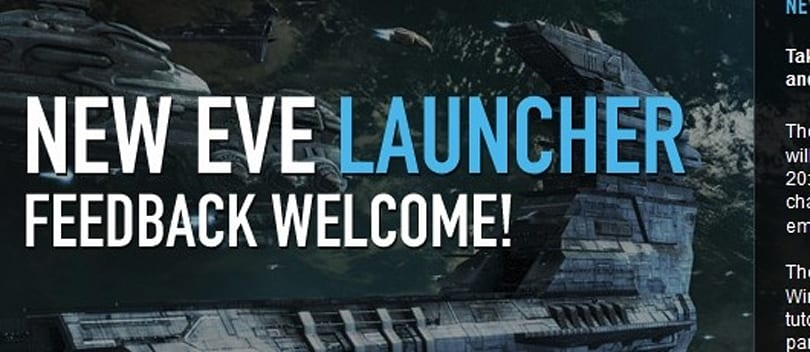 EVE's Crucible 1.5 patch hits tomorrow, brings new launcher