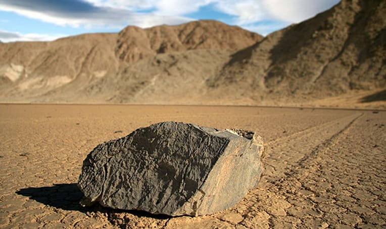 Mystery of Death Valley's sailing stones solved with GPS and time-lapse