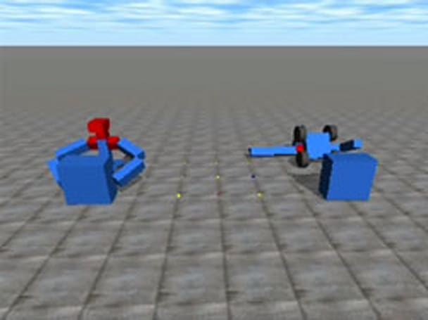 Researchers create virtual bots that teach each other