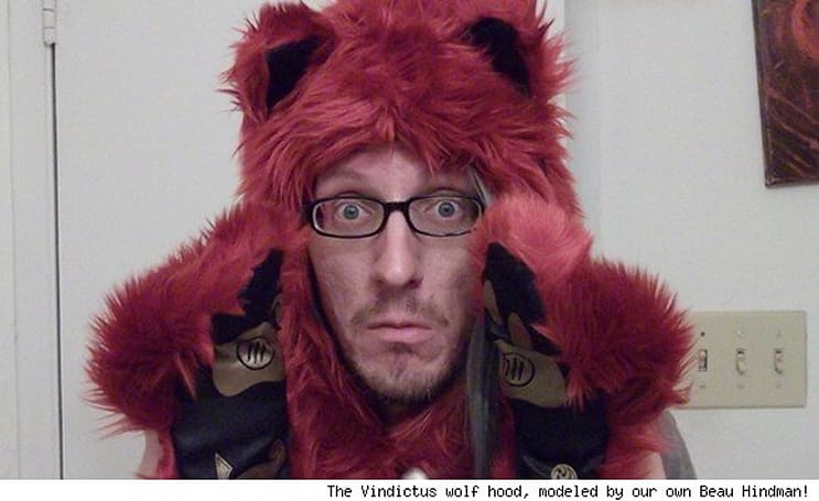 Because every Vindictus warrior needs a wolf hood, we're giving some away!