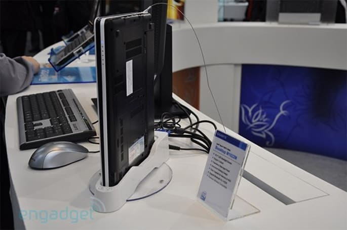 Gigabyte's Booktop M1022 (and dock) hits the FCC