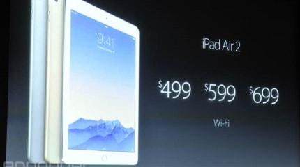 iPad Air 2 対 iPad Air 詳細スペック比較。変更点まとめ
