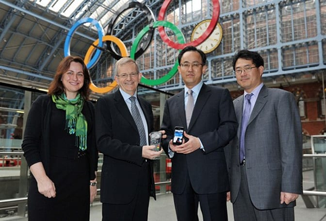Samsung and Visa pull the starting trigger on Olympic payment collaboration