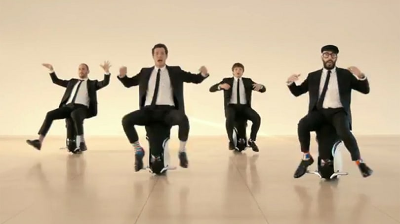 OK Go's new music video has robotic seats, drones and life-sized pixel art