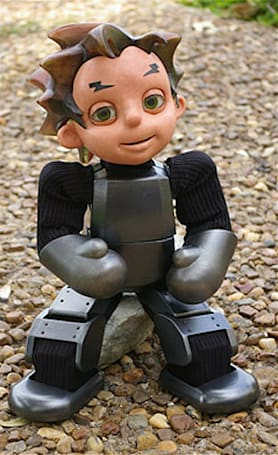 Zeno the child-robot apes Astro Boy, Chucky