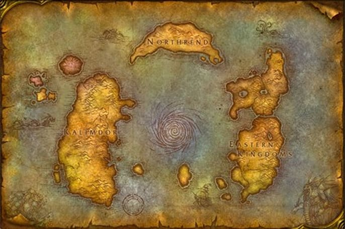 A look at the geography of WoW from Interesting '08