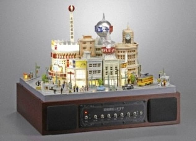 Bandai's Diorama Ginza speaker recreates a place you've never been, at a price you can't afford