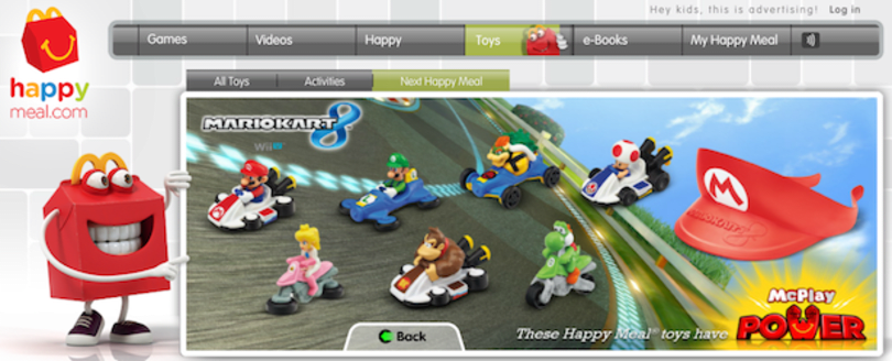 Mario Kart 8 takes a turn for McDonalds Happy Meals