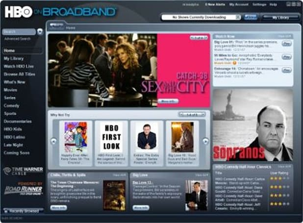 """""""HBO on Broadband"""" to offer free downloads, live feed"""