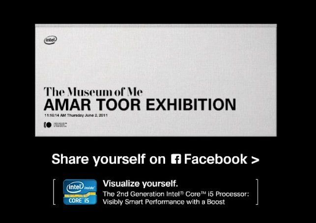 Intel's Museum of Me finally gives your Facebook ego the attention it deserves