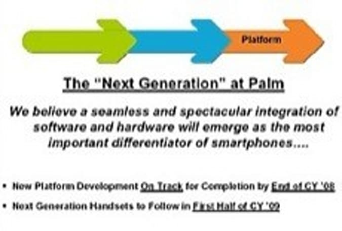 Palm quietly slips next generation smartphones into mid 2009