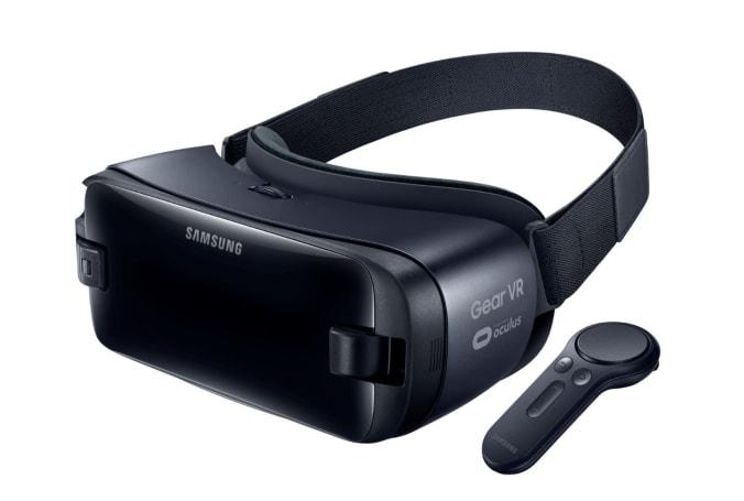 Samsung 的 Gear VR 遥控器长这样