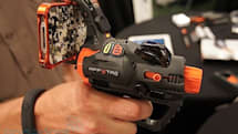 Hex3 AppTag Laser Blaster turns iPhones and Androids into augmented reality laser tag gun sights (hands-on)