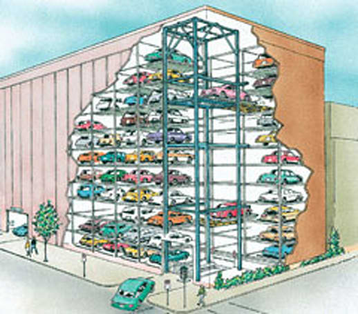 Legal woes over robotic parking garage