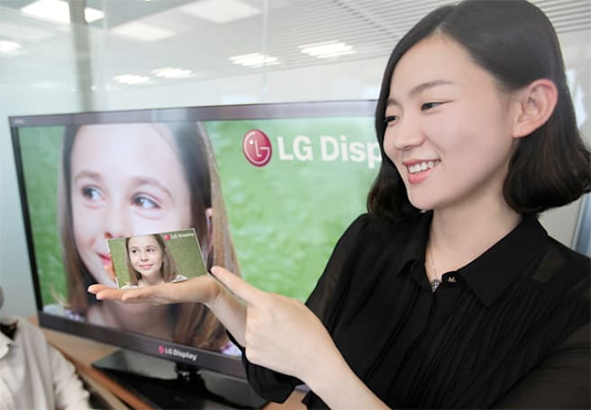 LG Display starts volume production of in-cell touch screens, we have a hunch as to who wants them
