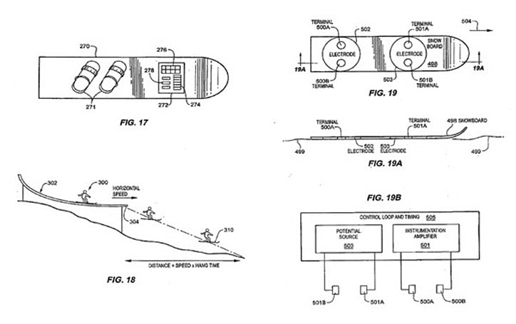 Apple patent filing shows off activity monitor for skiers, bikers