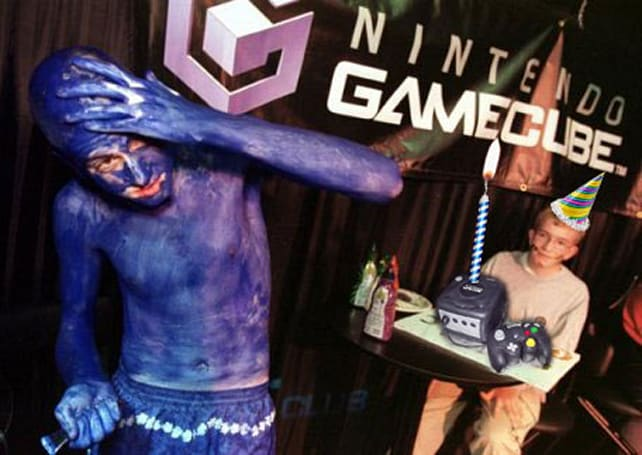 Nintendo GameCube turns ten years dead, still in denial about the whole color purple thing