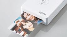エレコム、持ち運べるプリンター「eprie」9月下旬発売。スマホからワイヤレスで直接印刷