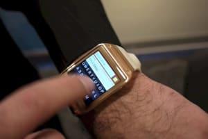 Fleksy Keyboard on Samsung's Galaxy Gear