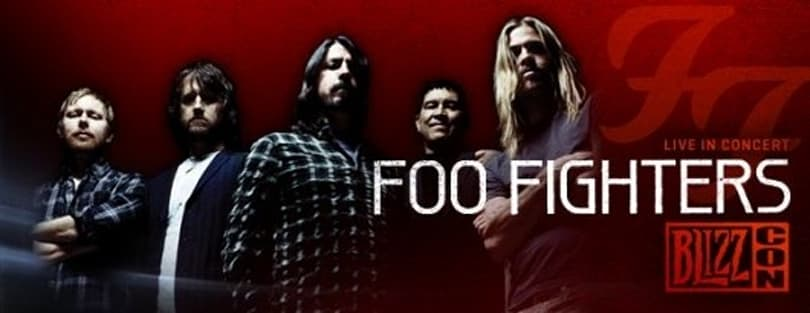 BlizzCon 2011 brings in Foo Fighters for concert -- and to fight the foo