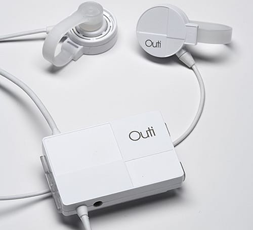 Outi bone-conducting headphones actually look reasonable