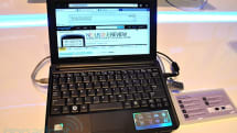 Samsung's new netbook line goes hands-on, Moblin makes a cameo