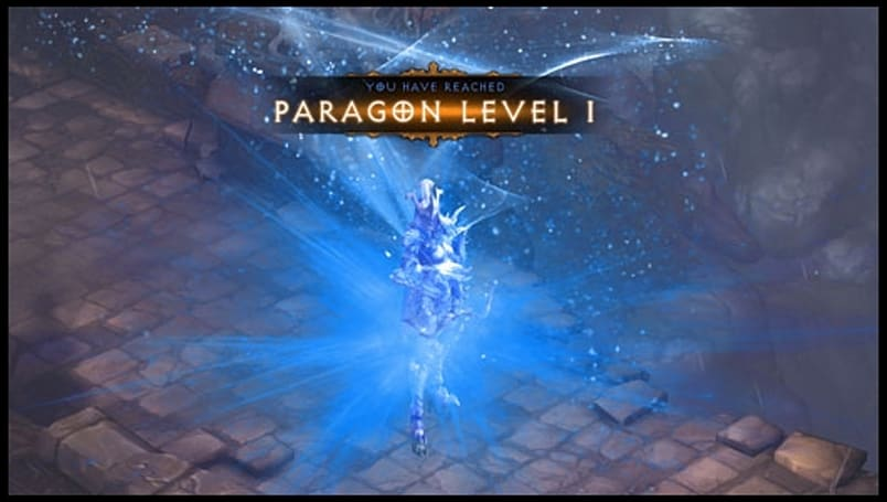 Diablo III upgrading Paragon endgame system