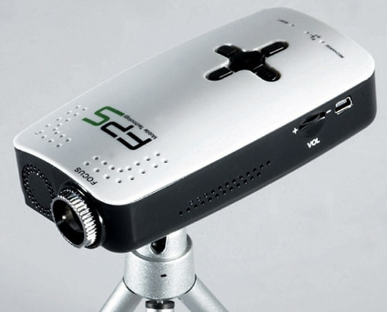 FPS hopelessly leaps into pocket projector game with Pearl M3