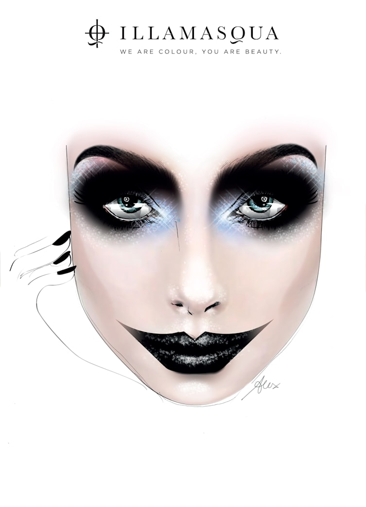 4 scary-chic Halloween makeup ideas