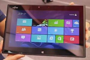 Fujitsu Arrows Tab With Windows 8 Hands-On