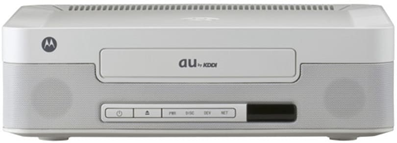 KDDI's Linux-based Au Box IP STB converts, sends media to mobiles