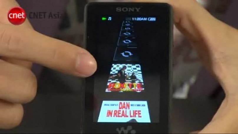 Sony X-Series Walkman gets the hands-on video treatment