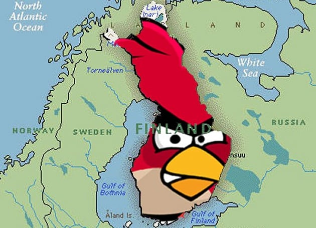Rovio employing a growing percentage of Finland
