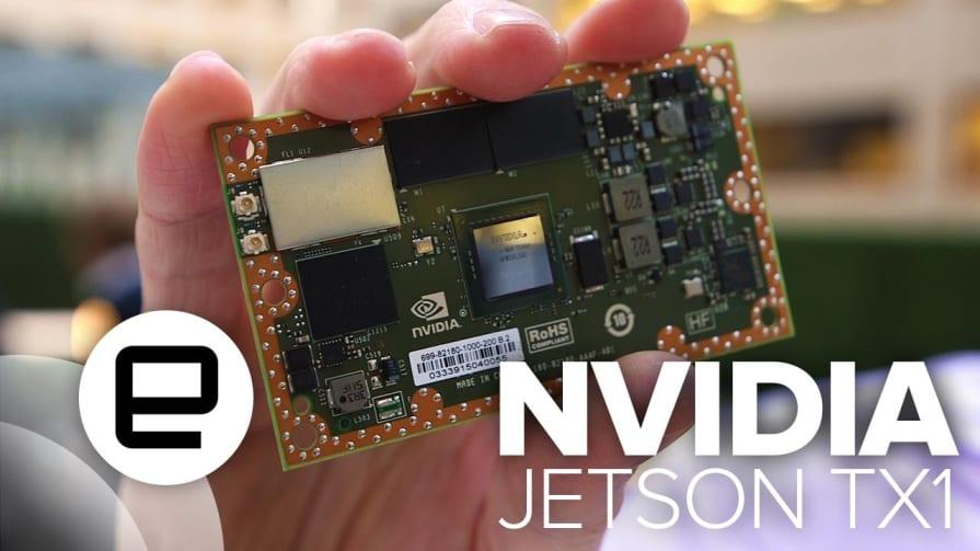 Smarter Smaller Robots with NVIDIA's TX1