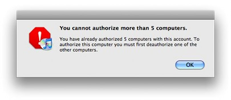 iTunes 101: Deauthorize all computers at once