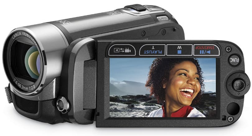 Canon keeps 'em coming with six new SD camcorders