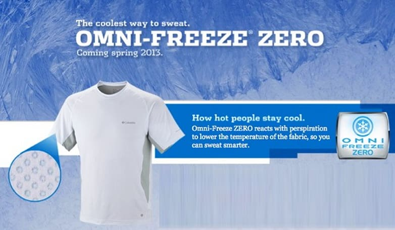 Columbia announces Omni-Freeze ZERO, sports gear that cools you down the hotter you get (video)