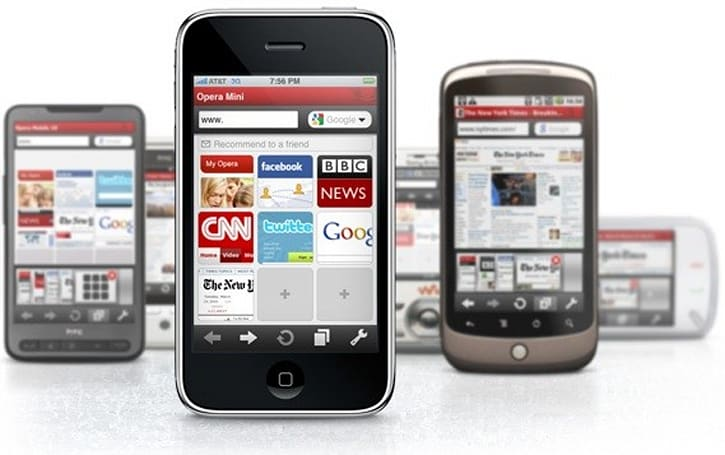 Opera Mini users increased 4.2 percent in a month (and other interesting tidbits), says Opera