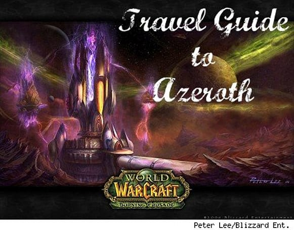 Gameplay Wishlist: WotLK travel guide