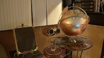 Send Google Earth for a spin with this RFID Steampunk globe (video)