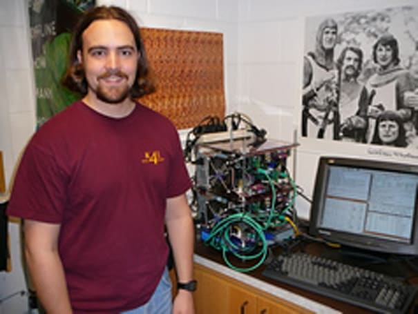 Calvin College duo creates cheap, portable supercomputer