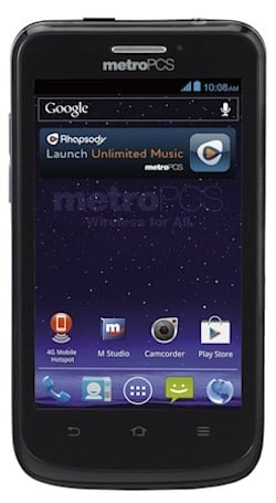 MetroPCS intros 4-inch ZTE Avid 4G, brings LTE and ICS for a mere $149