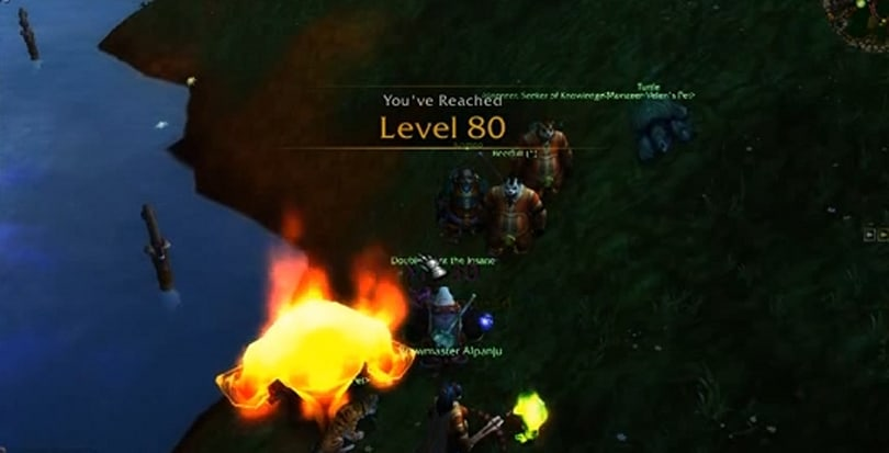 World of Warcraft player hits level 80 without picking a faction