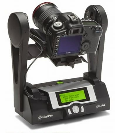 GigaPan Epic Pro robotic camera mount gets upgraded to firmware version 171
